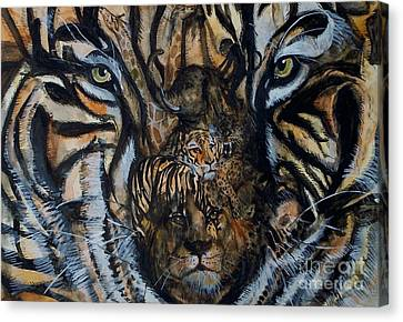 Wild Canvas Print by Laneea Tolley