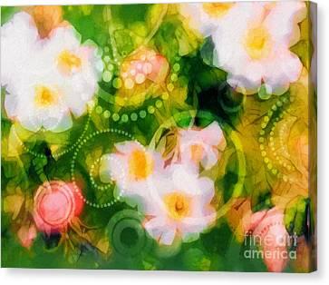 Wild Roses Canvas Print by Lutz Baar