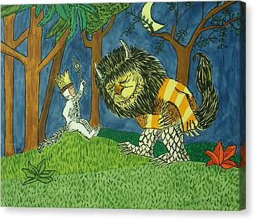Wild Things Canvas Print by Tammy Rekito