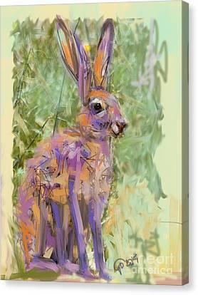 Wildlife Haas Canvas Print by Go Van Kampen