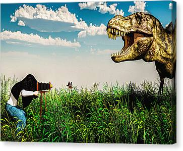 Wildlife Photographer  Canvas Print by Bob Orsillo