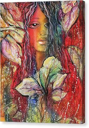 Wildwood Bohemian Canvas Print by Joann Loftus