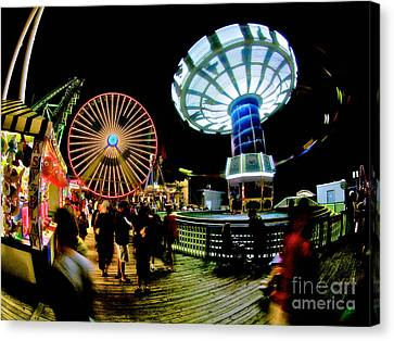 Wildwood Is A Happy Place Canvas Print by Mark Miller