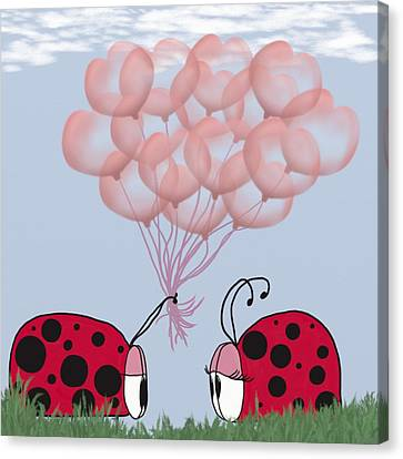 Will You Be Mine? Canvas Print by Michelle Brenmark