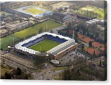 Willem 2 Stadion, Tilburg Canvas Print by Bram van de Biezen