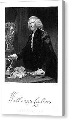 William Cullen (1710-1790) Canvas Print by Granger