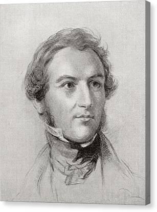 William Gladstone Canvas Print by English School