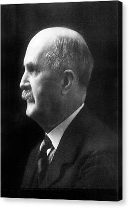 William Henry Bragg Canvas Print by Aip Emilio Segre Visual Archives, Physics Today Collection