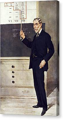 William Ramsay, Scottish Chemist Canvas Print by Science Photo Library