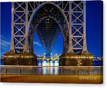 Williamsburg Bridge 2 Canvas Print by Az Jackson