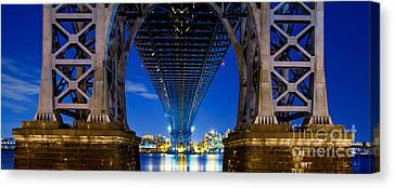 Williamsburg Bridge 4 Canvas Print by Az Jackson
