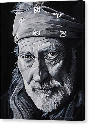 Willie  Canvas Print by Brian Broadway