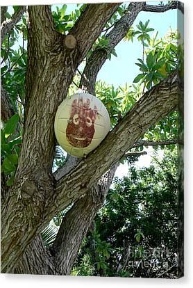 Wilson Reaches Hawaii Canvas Print by Dona  Dugay