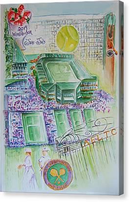 Wimbledon 2014 Canvas Print by Elaine Duras