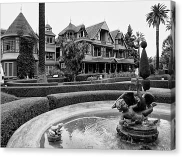 Winchester House - San Jose California Canvas Print by Daniel Hagerman