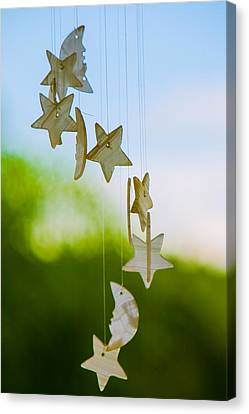 Wind Chimes Canvas Print by Tommy Farnsworth