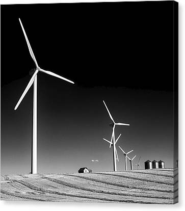 Wind Farm Canvas Print by Trever Miller