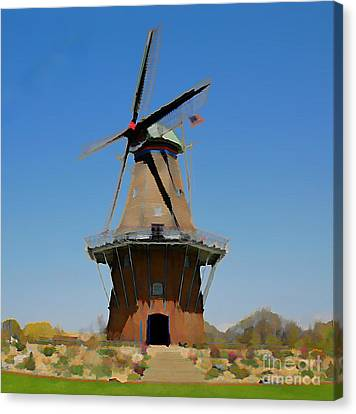 Wind Mill  Canvas Print by Robert Pearson