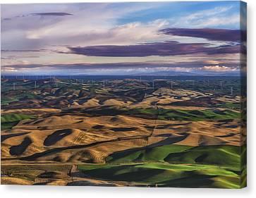 Wind Canvas Print by Ryan Manuel