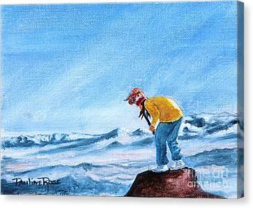Wind Spirit Canvas Print by Pauline Ross