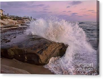 Windansea Beach 2 Canvas Print by Eddie Yerkish
