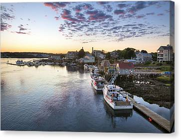 Winding Down Canvas Print by Eric Gendron