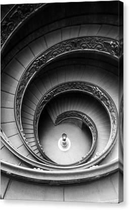 Winding Stairway Canvas Print by Thomas D McManus