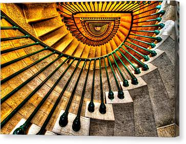 Winding Up Canvas Print by Chad Dutson
