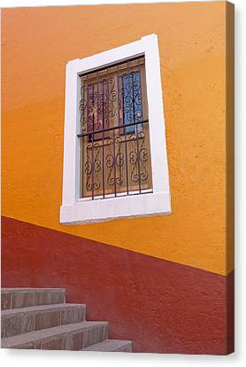 Window 1 Canvas Print by Douglas J Fisher