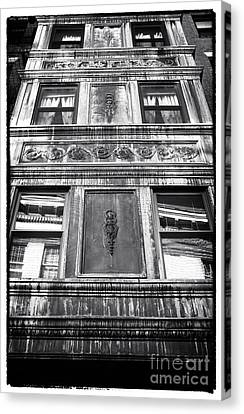 Window Design Canvas Print by John Rizzuto
