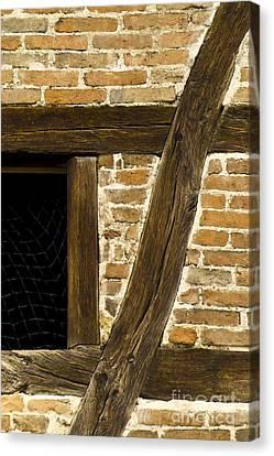 Window Frame Detail 1 Canvas Print by Heiko Koehrer-Wagner