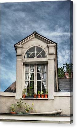 Window Garden Canvas Print by Brenda Bryant