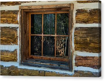 Window Reflection Canvas Print by Paul Freidlund