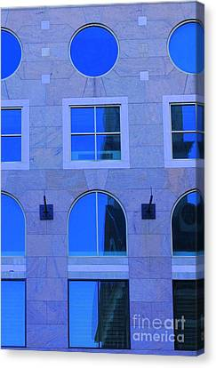 Window Shapes Canvas Print by Kathleen Struckle