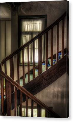 Window Stairs Canvas Print by Nathan Wright