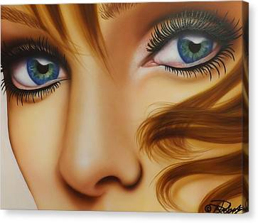 Window To The Soul Canvas Print by Darren Robinson