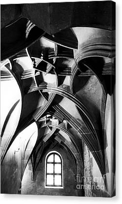 Window View Canvas Print by John Rizzuto