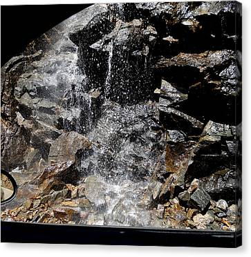 Window Waterfall Canvas Print by Dan Sproul