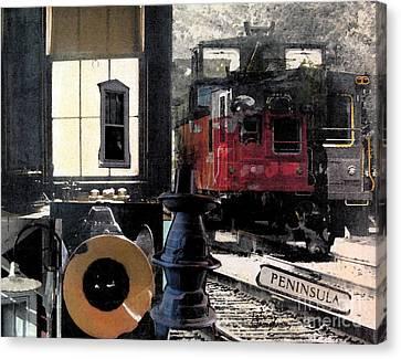 Windows Into The Past Canvas Print by Patricia Januszkiewicz