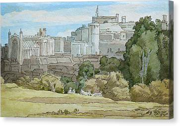 Windsor Canvas Print by Celestial Images