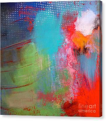 Windy Night Canvas Print by Lisa Schafer