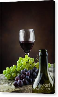 Wine Concept Canvas Print by Mythja  Photography
