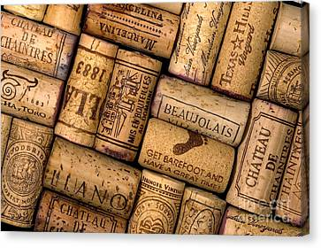 Wine Corks Canvas Print by Gregory G. Dimijian, M.D.
