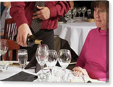 Wine Taster Canvas Print by Jim West