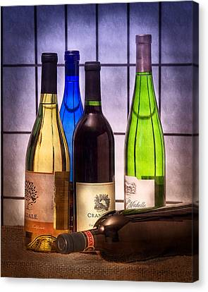 Wines Canvas Print by Tom Mc Nemar