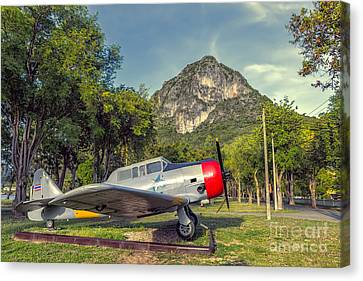 Wing 5 Thailand Canvas Print by Adrian Evans
