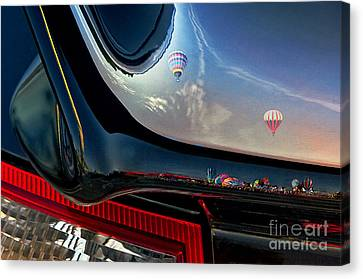 Winged Flight Canvas Print by Alan Greene