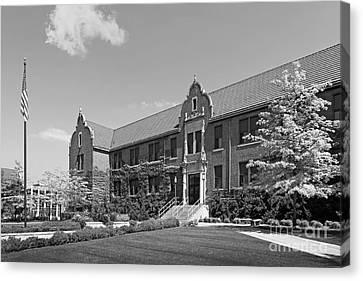 Winona State University Phelps Hall Canvas Print by University Icons