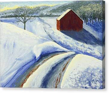 Winter Blues Canvas Print by Garry McMichael