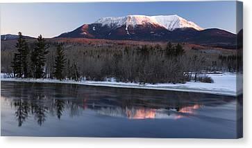 Winter Glow Canvas Print by Patrick Downey